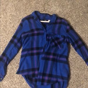 Blue, black, and pink flannel from Urban
